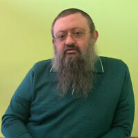 "Dr. Vladimir ""Zev"" Zelenko. (YouTube screenshot)"