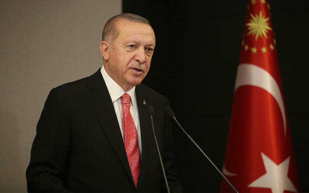 Erdogan says Turkey 'won't allow' Israel to annex parts of West Bank