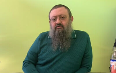 "Dr. Vladimir ""Zev"" Zelenko. (YouTube screenshot)"