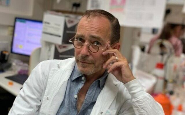 Daniel Douek, a principal investigator at the National Institutes of Health (courtesy of Daniel Douek)