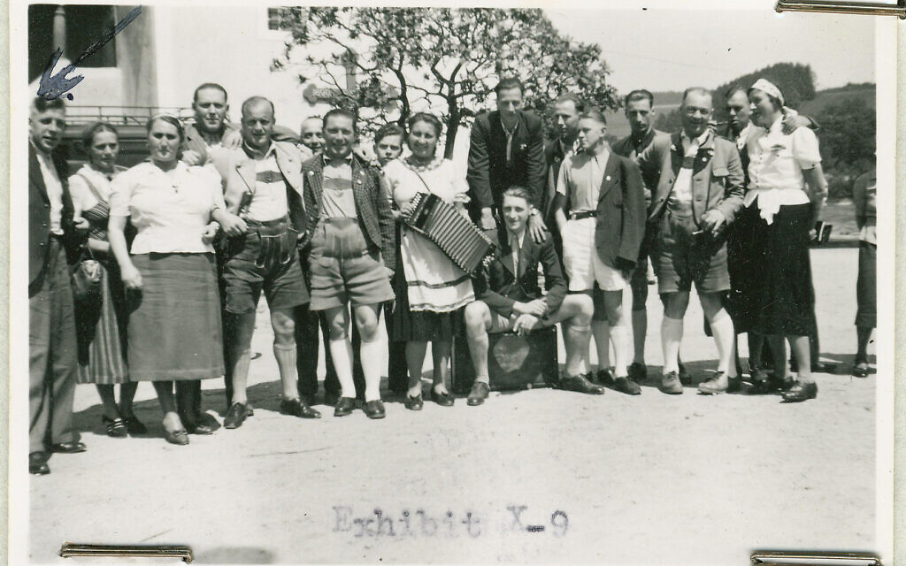 Staff of Hartheim Euthanasia Center in Alkoven (USHMM)