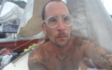 Israeli sailor Amit Mendel, who was denied entry to Jamaica due to a coronavirus lockdown, undated, 2020. (Kan screenshot)