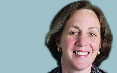 Dianne Lob, the chair-elect of the Conference of Presidents of Major American Jewish Organizations. (Courtesy of the Conference of Presidents of Major American Jewish Organizations via JTA)
