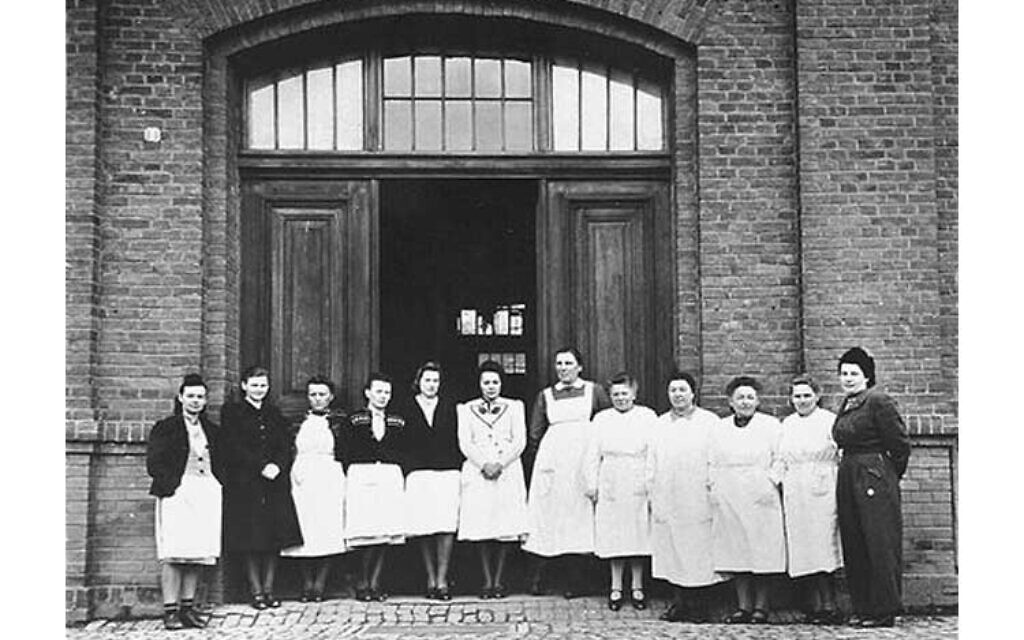 Nursing staff of Hadamar euthanasia center in Germany (public domain)