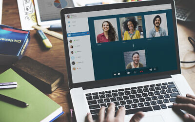 Illustrative image of online video call and Rawpixel (iStock by Getty Images)