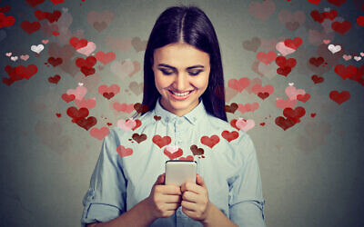 Illustrative photo of online dating. (iStock/ SIphotography)