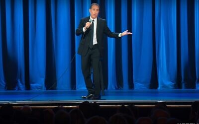 Jerry Seinfeld in his new Netflix special, '23 Hours to Kill.' (Screenshot)