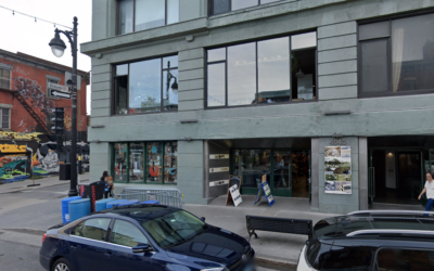 The site of the Museum of Jewish Montreal, Canada (Google Street View)