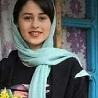 Teenager Romina Ashrafi was murdered by her father after she eloped with an older man, causing widespread anger in Iran. (Courtesy)