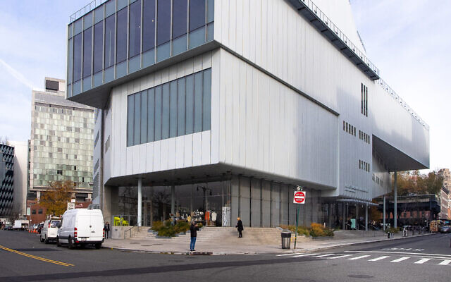 The Whitney Museum in New York, Nov. 18, 2019. (Wikimedia Commons via JTA)