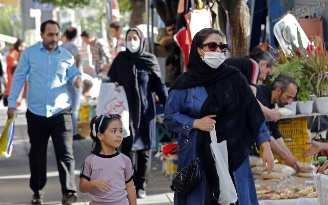 Iran reports 3,574 new virus infections, its highest yet