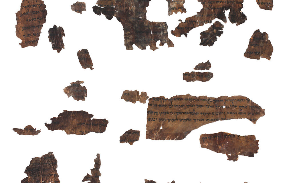 Isaiah Scroll from the IAA's Dead Sea Scrolls collection. (Shai Halevi, Courtesy of the Israel Antiquities Authority)