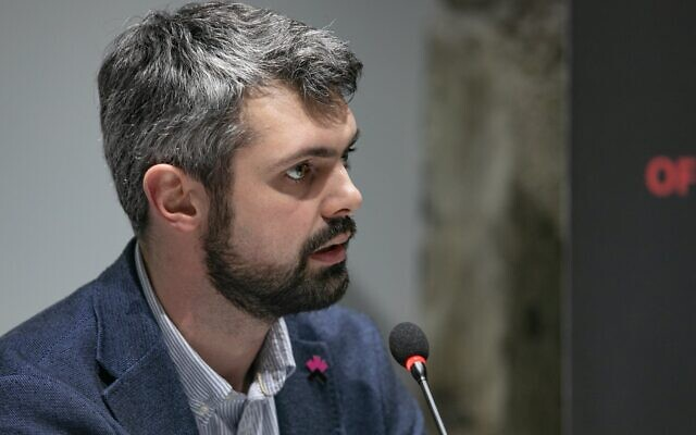 Anton Drobovych, appointed to head the Ukrainian Institute of National Memory in December 2019. (Courtesy Institute of National Memory)