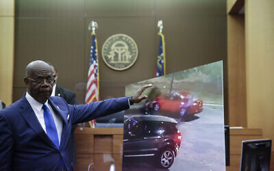 Fulton County District Attorney Paul L. Howard Jr. speaks at a news conference, June 17, 2020 in Atlanta. (AP Photo/Byrnn Anderson)