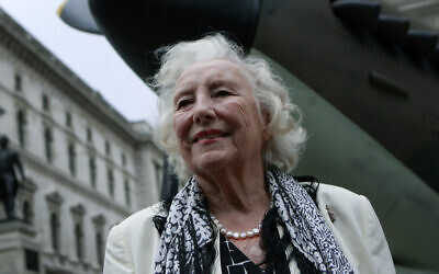 Dame Vera Lynn attends a ceremony to mark the 70th anniversary of the Battle of Britain, in central London, August 20, 2010. (Lefteris Pitarakis/AP)