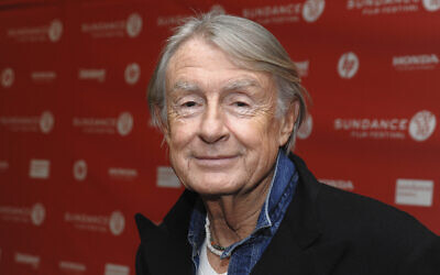 "In this Jan. 29, 2010 file photo, director Joel Schumacher attends the premiere of ""Twelve"" during the 2010 Sundance Film Festival in Park City, Utah.  (AP Photo/Peter Kramer)"