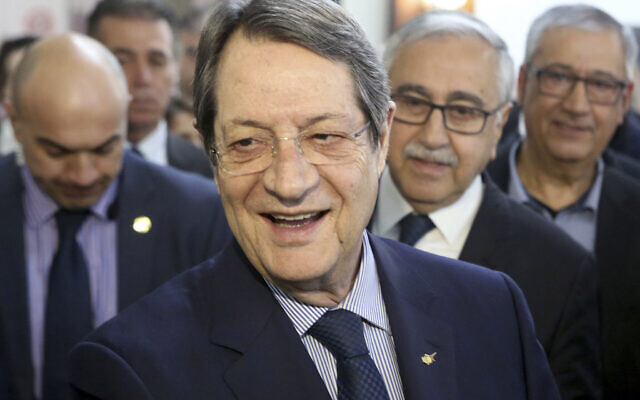 Cypriot president cancels Israel trip as COVID-19 cases surge