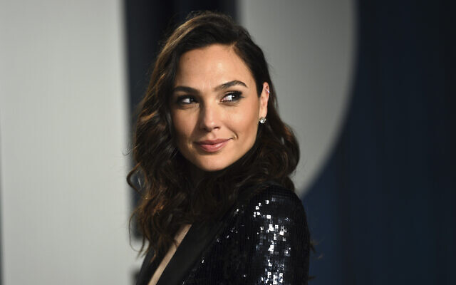 Gal Gadot arrives at the Vanity Fair Oscar Party on February 9, 2020, in Beverly Hills, California (Evan Agostini/Invision/AP)