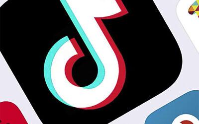 The icon for TikTok phone app, taken in New York, February 25, 2020. (AP Photo)