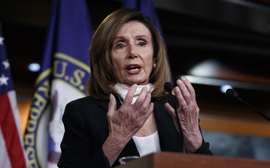 Pelosi says Israeli annexation in West Bank would hurt US interests
