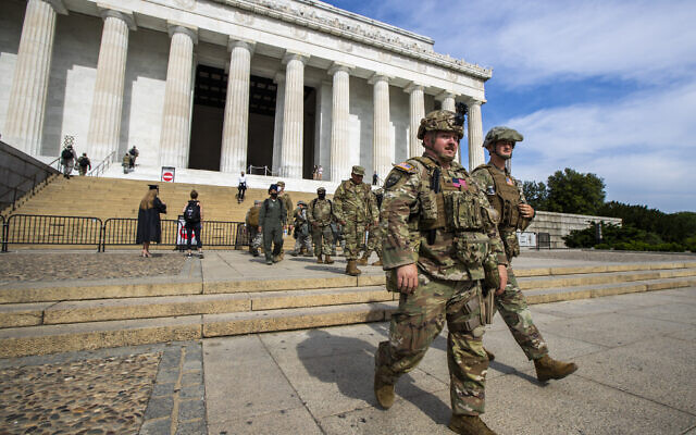 Chairman of Joint Chiefs assess military presence on the streets at Black Lives Matter protests