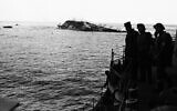 The dramatic and tragic scene as the Lancastria sank on August 3, 1940. (AP Photo)