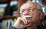 Prof. Zeev Sternhell on January 12, 2010. (Yossi Zamir/Flash 90)