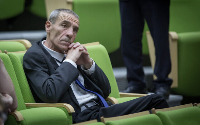 Likud MK Fateen Mulla at the Knesset on April 29, 2019. (Noam Revkin Fenton/Flash90)