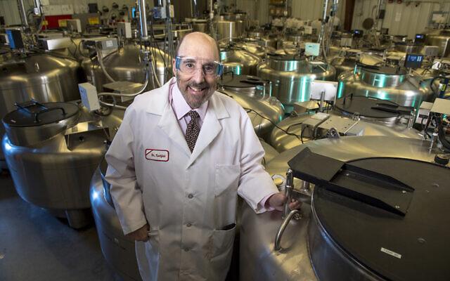 Distinguished professor of Genetics, Dr. Jay A. Tischfield, Rutgers-New Brunswick. (Courtesy Rutgers)