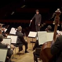 Screen capture from video of the Israel Philharmonic Orchestra's Global Gala 2020. (YouTube)