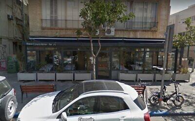 Screen capture of the Shila restaurant in Tel Aviv. (Google Maps)
