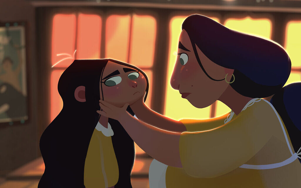 Ranin and her mother in 'Cinema Rex' (Courtesy of Mayan Engelman & Eliran Peled/Cinema Rex)