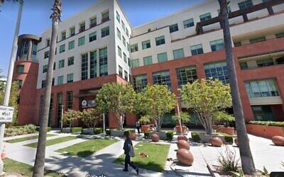 The Universal Music Groups corporate headquarters in Santa Monica, California. (Google Street View)