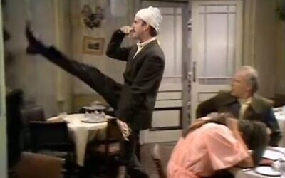 John Cleese as Basil Fawlty in a scene from 'The Germans' episode of the TV comedy series Fawlty Towers (Screen Capture: YouTube)