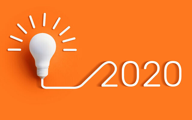 Illustrative image of 2020 creativity concept; business ingenuity and disruption (HAKINMHAN; iStock by Getty Images)