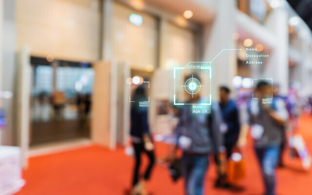 An illustrative image of AI (artificial intelligence) and facial recognition technologies (KENGKAT; iStock by Getty Images)