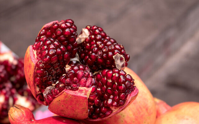 Illustrative image of pomegranate fruit and seeds (Stephen J Perrot; iStock by Getty Images)