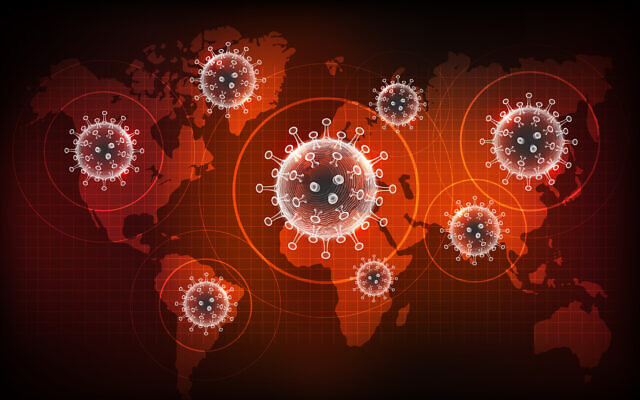 Coronavirus's global spread (ChakisAtelier; iStock by Getty Images)
