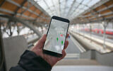 An existing smartphone app for tracking the spread of infection which determines who has been in contact with people who have been infected with the coronavirus. (iStock)