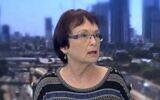 Professor Yael Amitai speaks on Channel 13 news, undated video (Screen grab/Channel 13)