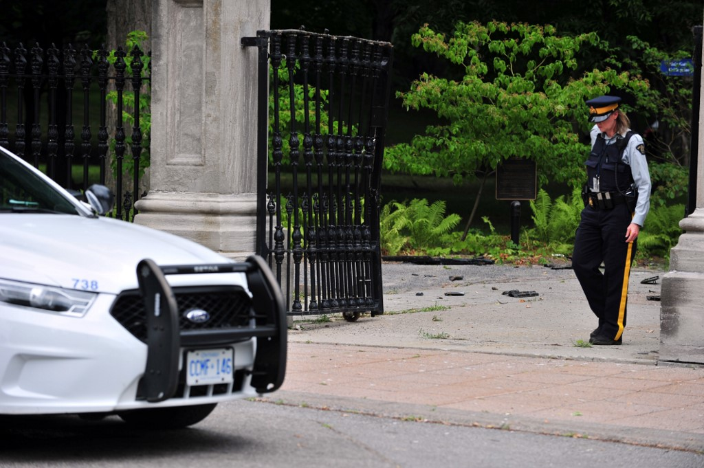 Man arrested on Rideau Hall grounds a member of Canadian military