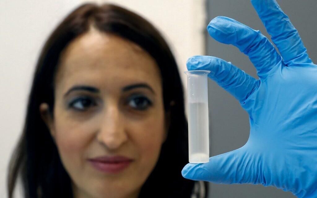 To battle virus, Israeli scientists use waste to make hand sanitizer