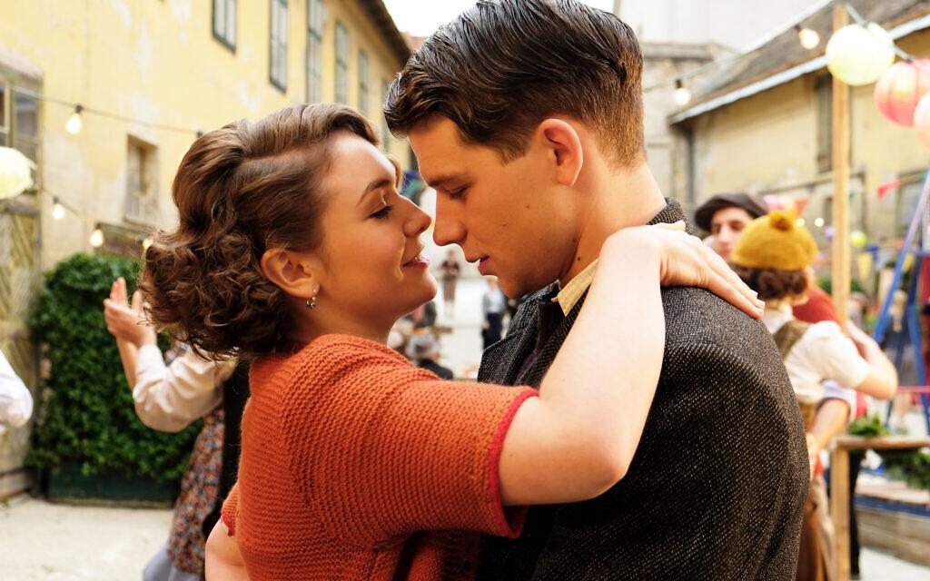 Emma Drogunova as Anezka, and Simon Morzé as Franz in 'The Tobacconist' (Petro Domenigg/ Epo Film/Glory Film)