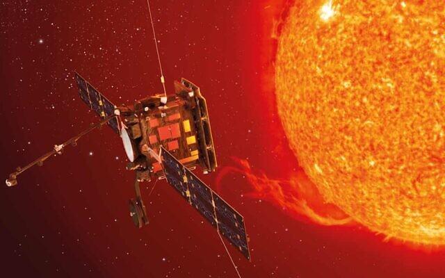 Illustrative image of the Solar Orbiter (ESA/ATG medialab/Nasa)