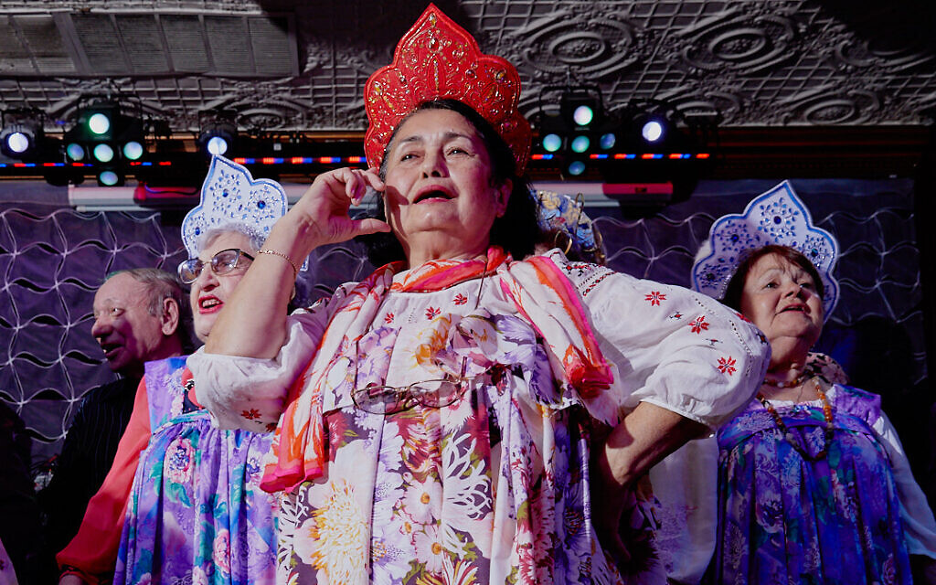 Russian grandmothers in costume at the Your Highness Grandmother Pageant (Gosha Shif/Be Proud Foundation)