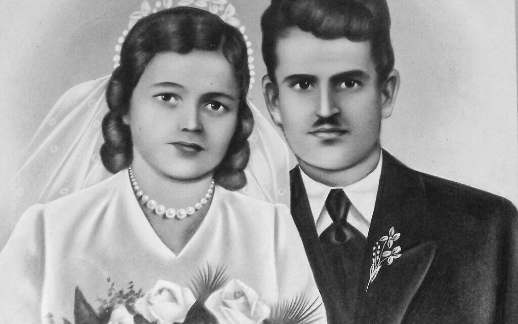 Picture of Ljubica Napijalo and her first husband. (Courtesy of Tamara Matic)