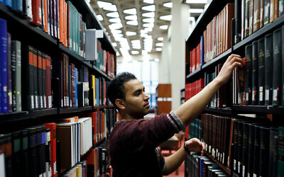Jaivet Ealom is now a political science student at the University of Toronto. (Cole Burston/ via JTA)