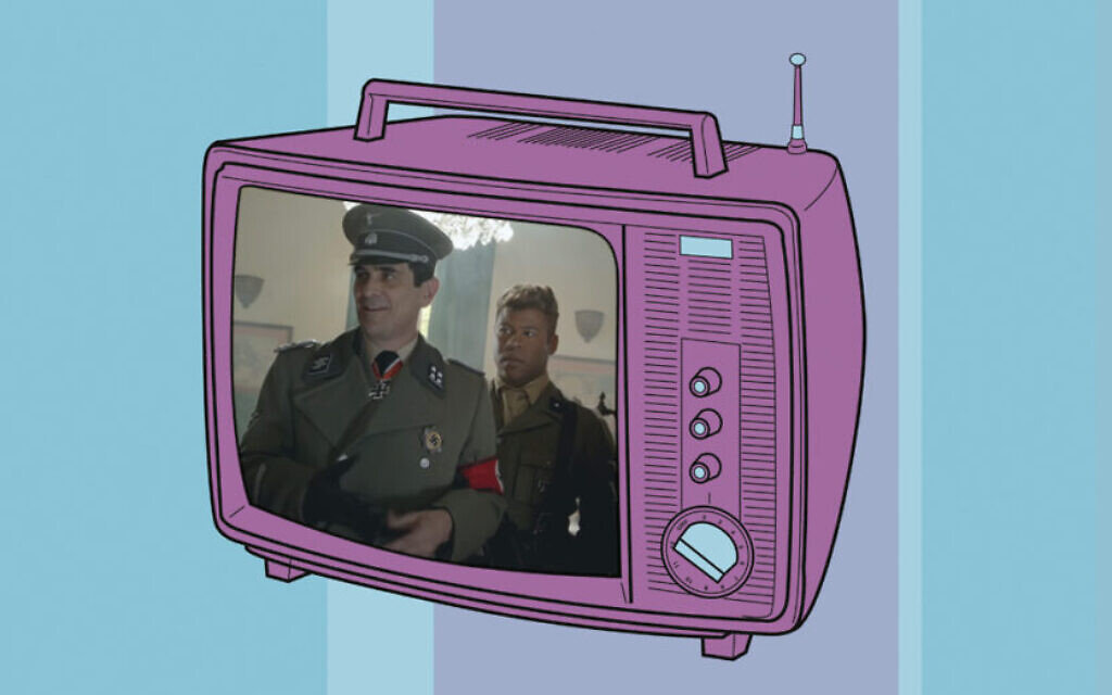 Holocaust TV. (Header image via CSA Images/Getty Images and Key & Peele/via JTA)