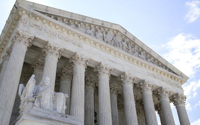 The US Supreme Court on June 30, 2020 in Washington, DC. (AP Photo/Manuel Balce Ceneta)