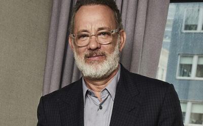 Tom Hanks in New York in a December 2019 photo (Matt Licari/Invision/AP)